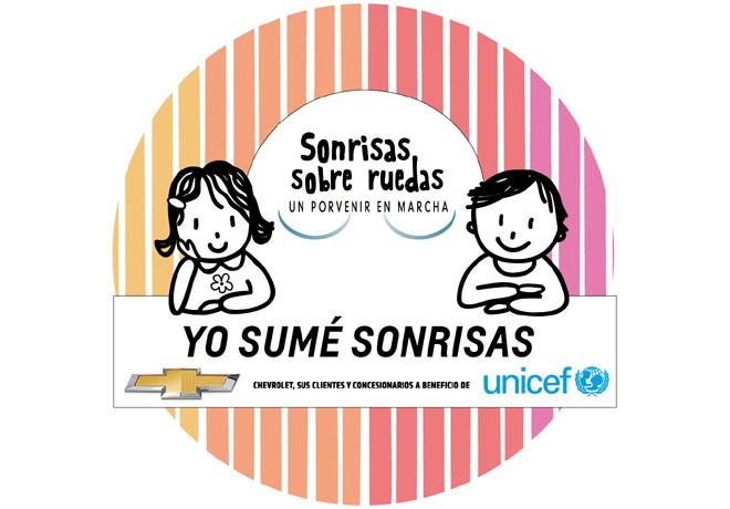Chevrolet - Programa Sonrisas sobre Ruedas a favor de Unicef