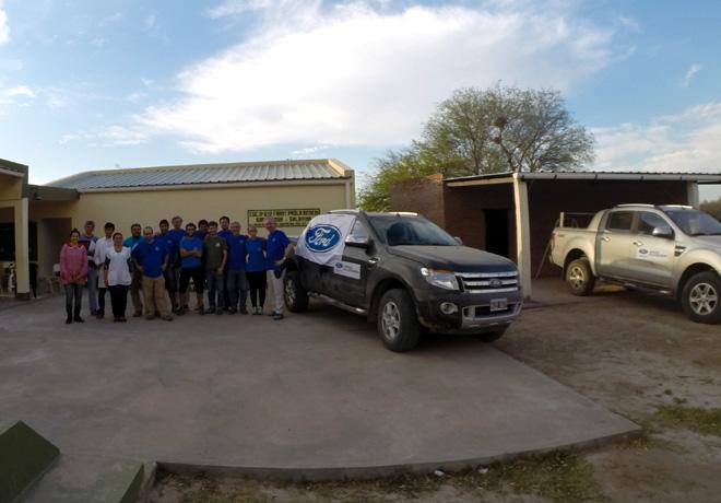 Dia Mundial del Agua - Ford renueva su compromiso con quienes mas la necesitan