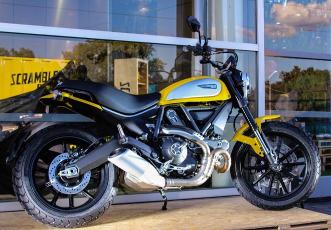Ducati - Lanzamiento Scrambler 2