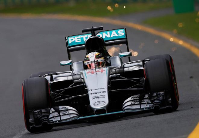 F1 - Australia 2016 - Clasificacion - Lewis Hamilton - Mercedes GP