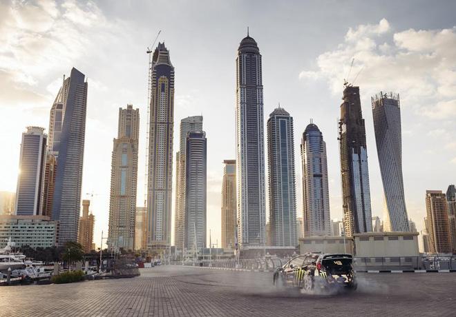 Ford - Ken Block - Gymkhana ocho en Dubai 2
