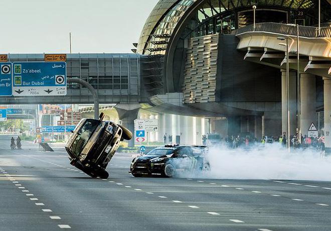 Ford - Ken Block - Gymkhana ocho en Dubai 3