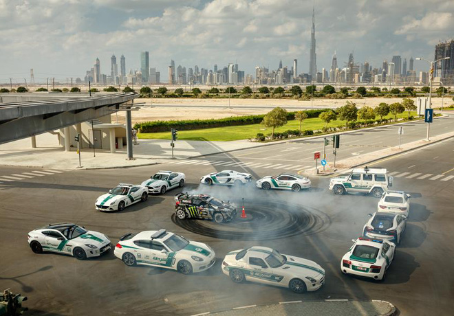 Ford - Ken Block - Gymkhana ocho en Dubai 4