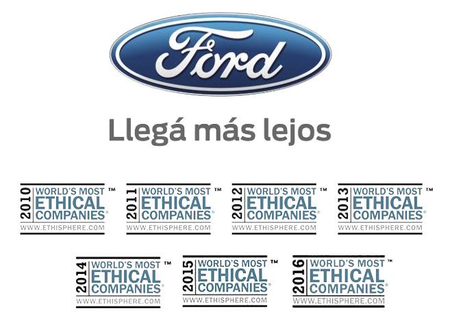 Ford - La empresa mas etica del mundo por septimo año consecutivo