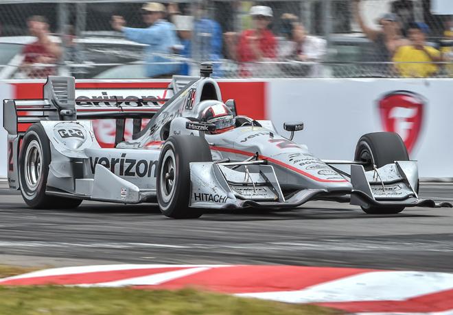 IndyCar - St Petersburg 2016 - Carrera - Juan Pablo Montoya