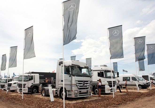 Mercedes-Benz Argentina en Expoagro 2016 1