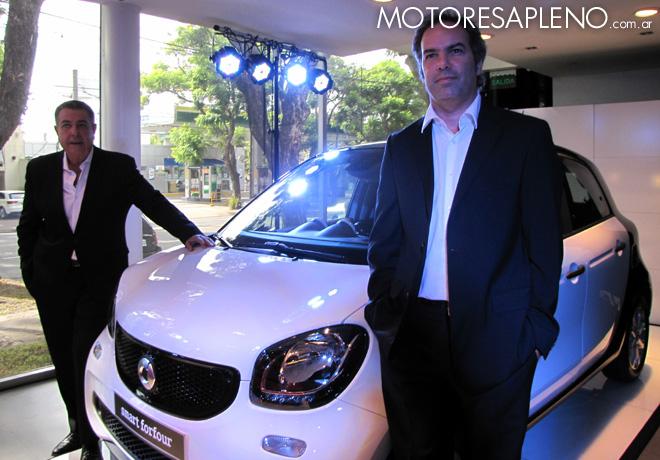 Mercedes-Benz Argentina presento los nuevos smart fortwo y smart forfour 1