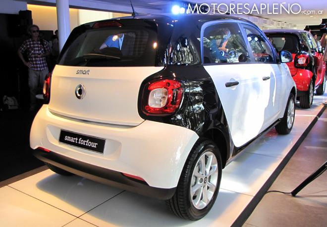 Mercedes-Benz Argentina presento los nuevos smart fortwo y smart forfour 3