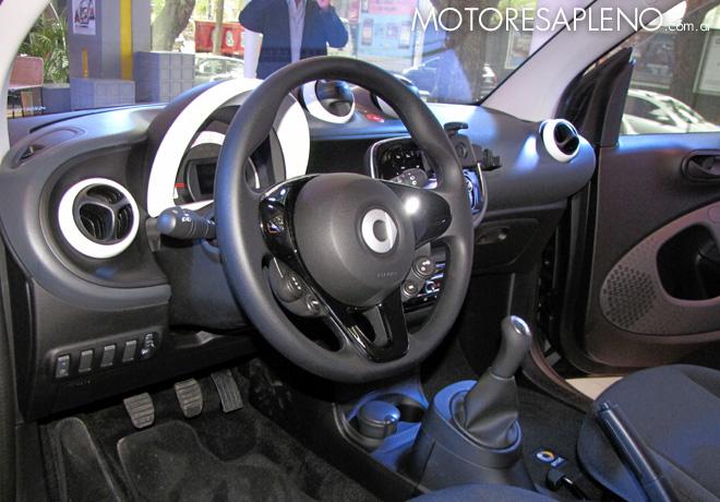 Mercedes-Benz Argentina presento los nuevos smart fortwo y smart forfour 5