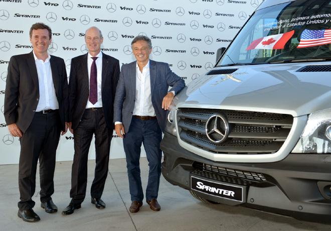Mercedes-Benz inicia exportaciones a Estados Unidos y Canada 2