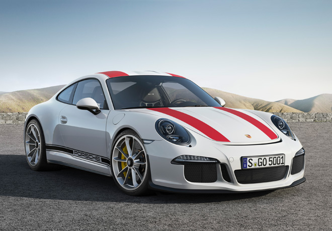 Porsche 911 R Serie Especial Limitada 1