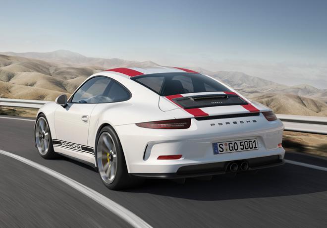 Porsche 911 R Serie Especial Limitada 6