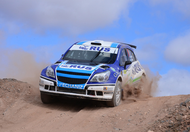 Rally Argentino - Plaza Huincul y Cutral Co 2016 - Etapa 1 - Marcos Ligato - Chevrolet Agile MR