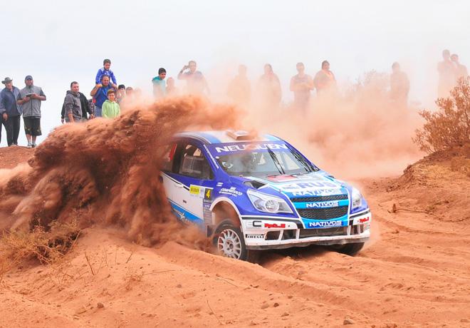Rally Argentino - Plaza Huincul y Cutral Co 2016 - Final - Alejandro Cancio - Chevrolet Agile MR