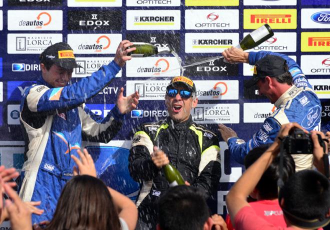 Rally Argentino - Plaza Huincul y Cutral Co 2016 - Final - El Podio