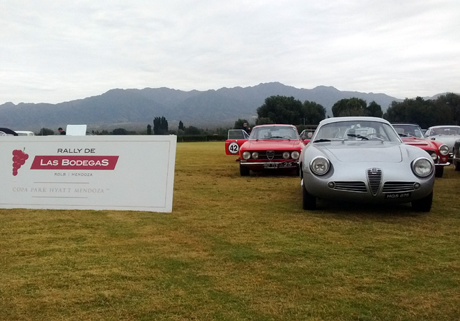 Rally de las Bodegas 2016 - Alfa Romeo Giulietta SZ 1961 - Best of the Show 1