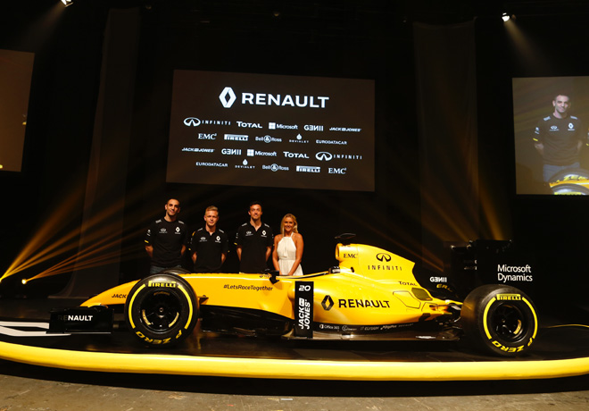 Renault Sport F1 - RS16