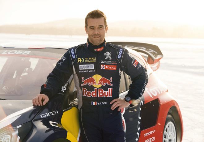 Sebasien Loeb - Team Peugeot Hansen Rallycross