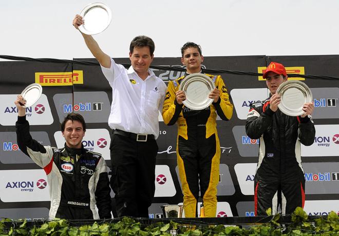 TC2000 - San Martin - Mendoza 2016 - Carrera Final - Matias Galetto - Manuel Luque - Martin Moggia en el Podio