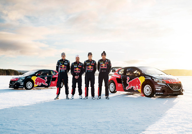 Team Peugeot Hansen Rallycross