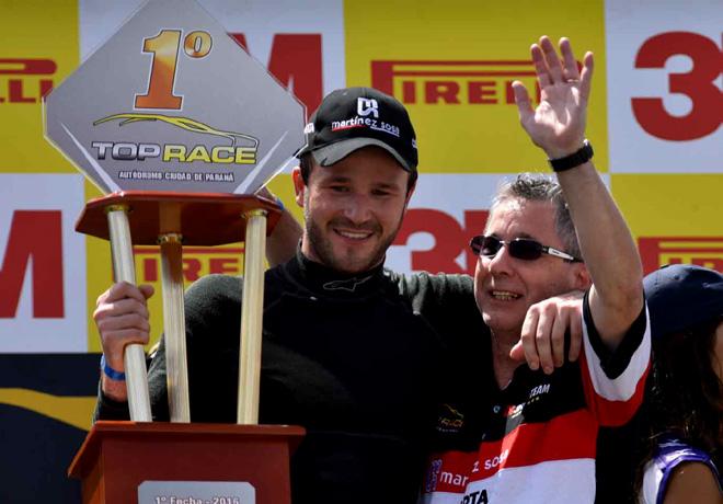 Top Race - Parana 2016 - Carrera - Agustin Canapino en el Podio