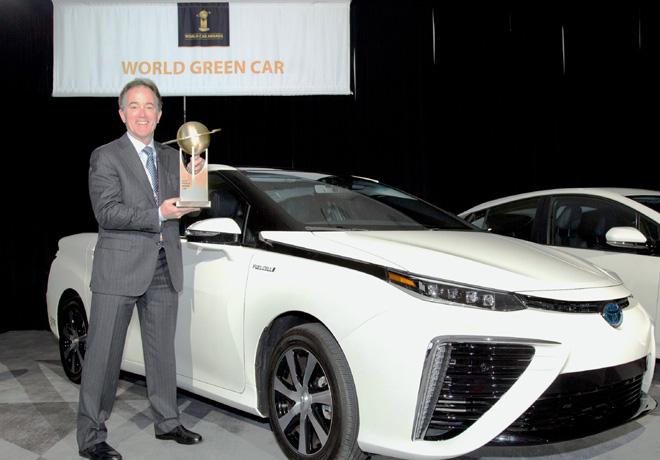 Toyota Mirai elegido como el Auto Verde del Año