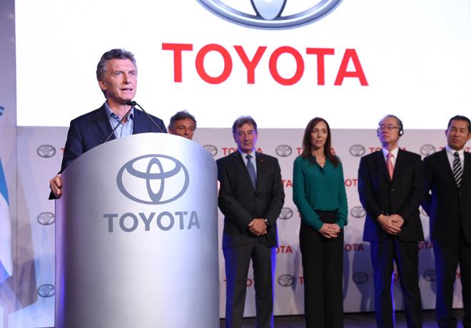 Toyota inauguro las obras de ampliacion de su planta en Zarate 1