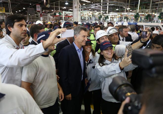 Toyota inauguro las obras de ampliacion de su planta en Zarate 3