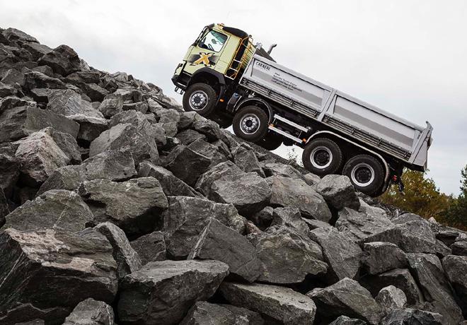 Volvo incorpora la nueva transmision I-Shift 1