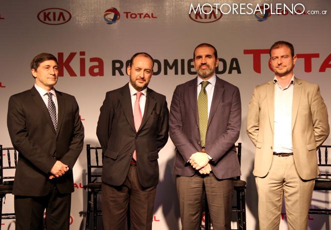 Acuerdo comercial entre Total y Kia Argentina