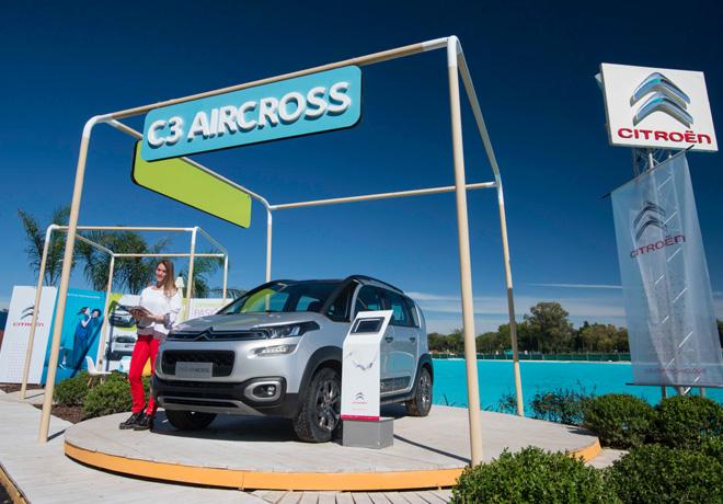 """El Nuevo C3 Aircross es el anfitrión en """"Estilo Pilar""""."""