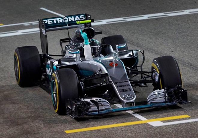 F1 - Bahrein 2016 - Carrera - Nico Rosberg - Mercedes GP