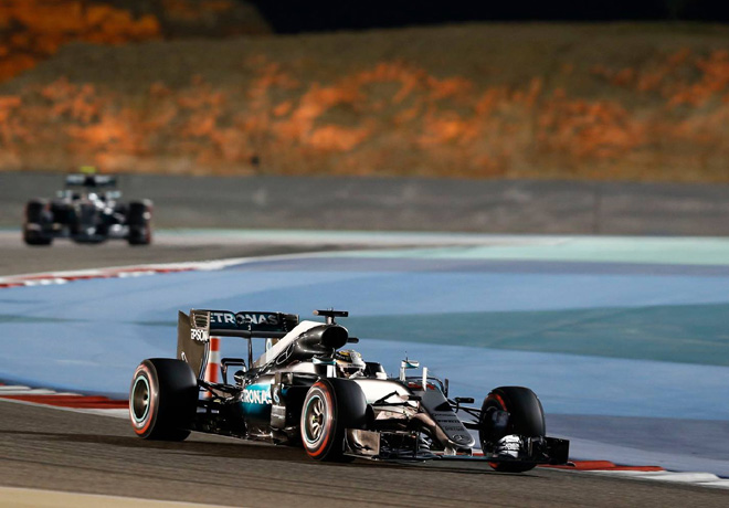 F1 - Bahrein 2016 - Clasificacion - Lewis Hamilton - Mercedes GP