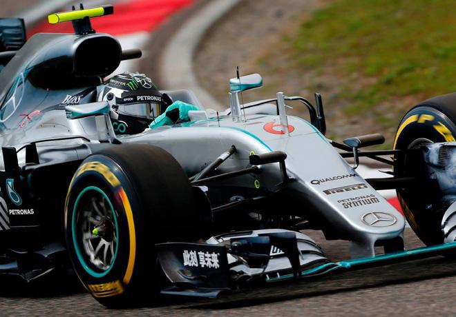 F1 - China 2016 - Carrera - Nico Rosberg - Mercedes GP