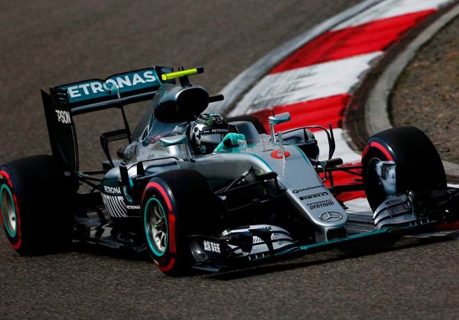 F1 - China 2016 - Clasificacion - Nico Rosberg - Mercedes GP