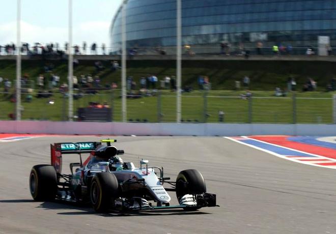 F1 - Rusia 2016 - Clasificacion - Nico Rosberg - Mercedes GP