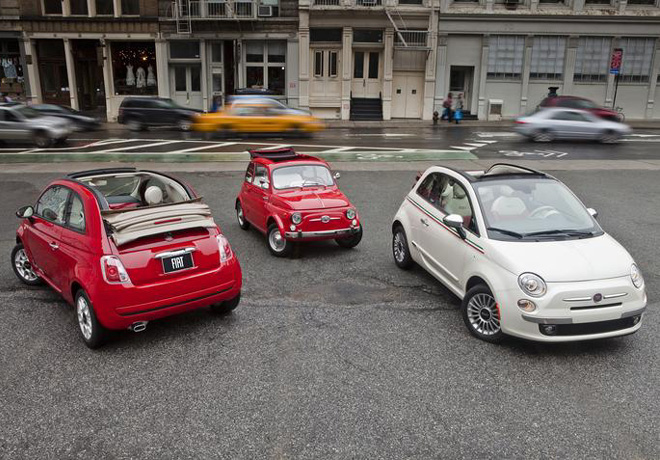 Fiat 500 Cabrio Lounge 1
