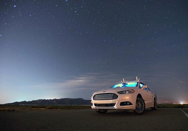 Ford prueba el Mondeo autonomo en la oscuridad absoluta 1