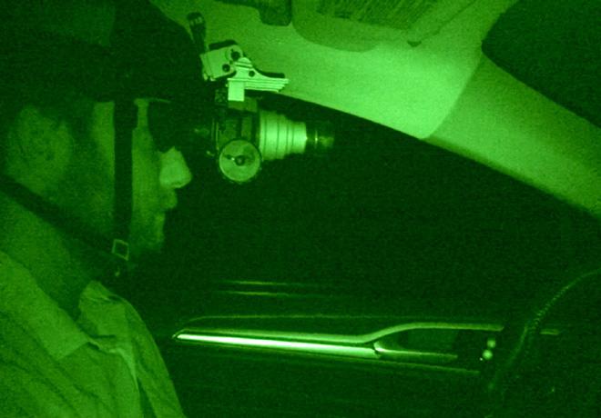 Ford prueba el Mondeo autonomo en la oscuridad absoluta 2