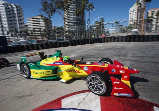 Formula E - Long Beach - Estados Unidos 2016 - Lucas di Grassi - Audi Sport ABT