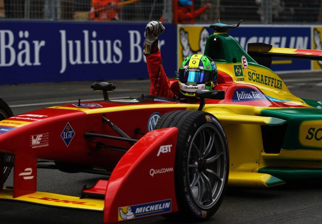 Formula E - Paris - Francia 2016 - Lucas di Grassi - Audi Sport ABT