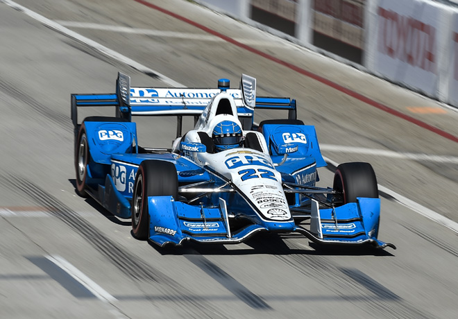 IndyCar - Long Beach 2016 - Carrera - Simon Pagenaud