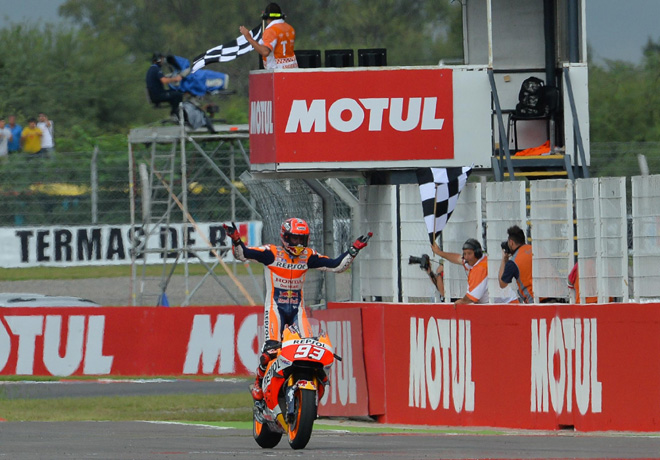 MotoGP -  Termas de Rio Hondo 2016 - Marc Marquez - Honda