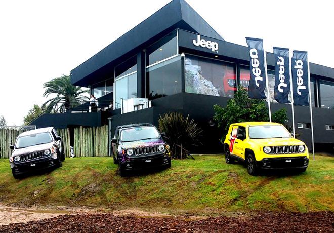 Nuevo Jeep Renegade en Jeep Park 1
