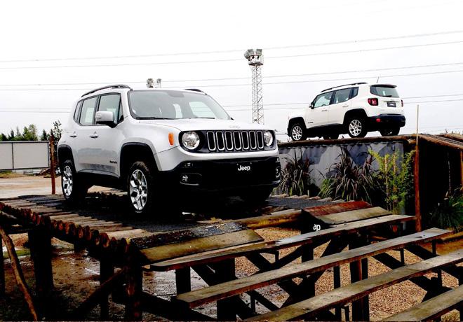 Nuevo Jeep Renegade en Jeep Park 2