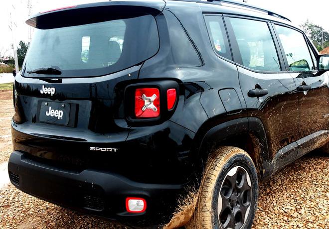 Nuevo Jeep Renegade en Jeep Park 4