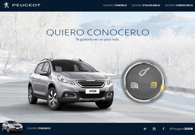Peugeot 2008 - Nueva campaña de comunicacion 2