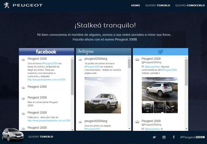 Peugeot 2008 - Nueva campaña de comunicacion 3