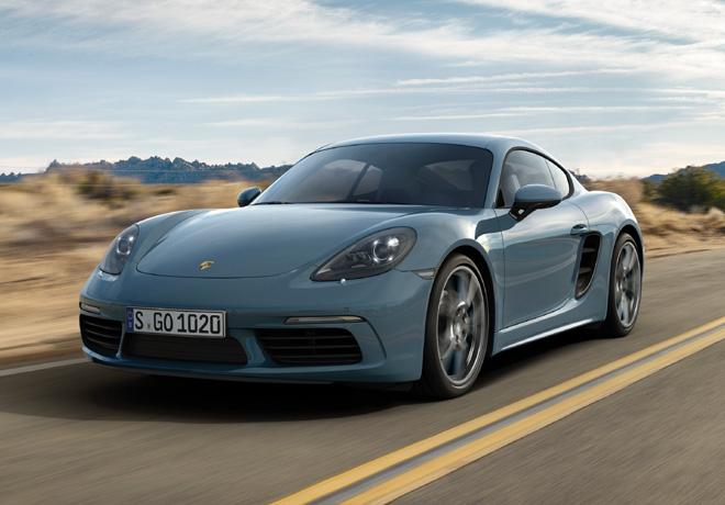 Nuevo Porsche 718 Cayman con motor de cuatro cilindros turbo.