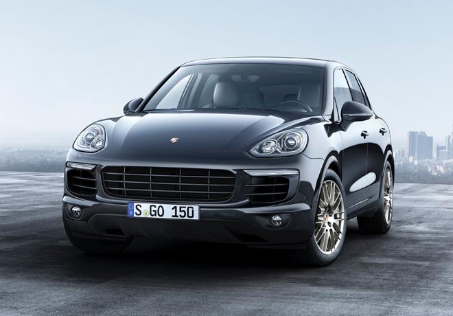 Porsche Cayenne Platinum Edition 1